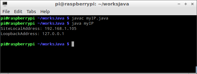 Get my IP Address using Java