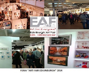 "GALERIA DE ARTE ""ART FAIR"" EDINBURGH 2014"