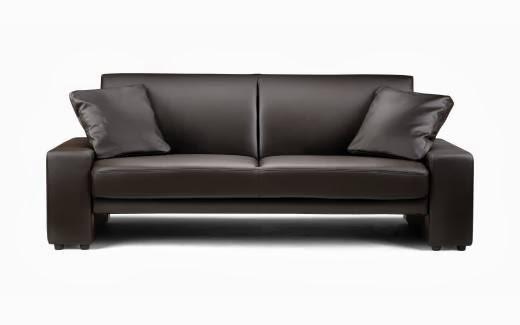 sofa minimalis kulit
