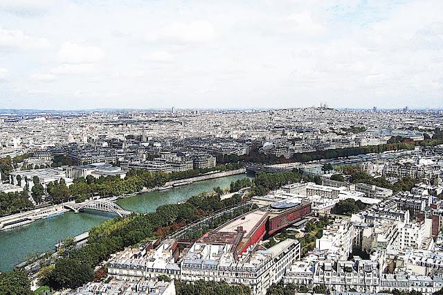 Paryż, panorama, wyjazd do Paryża