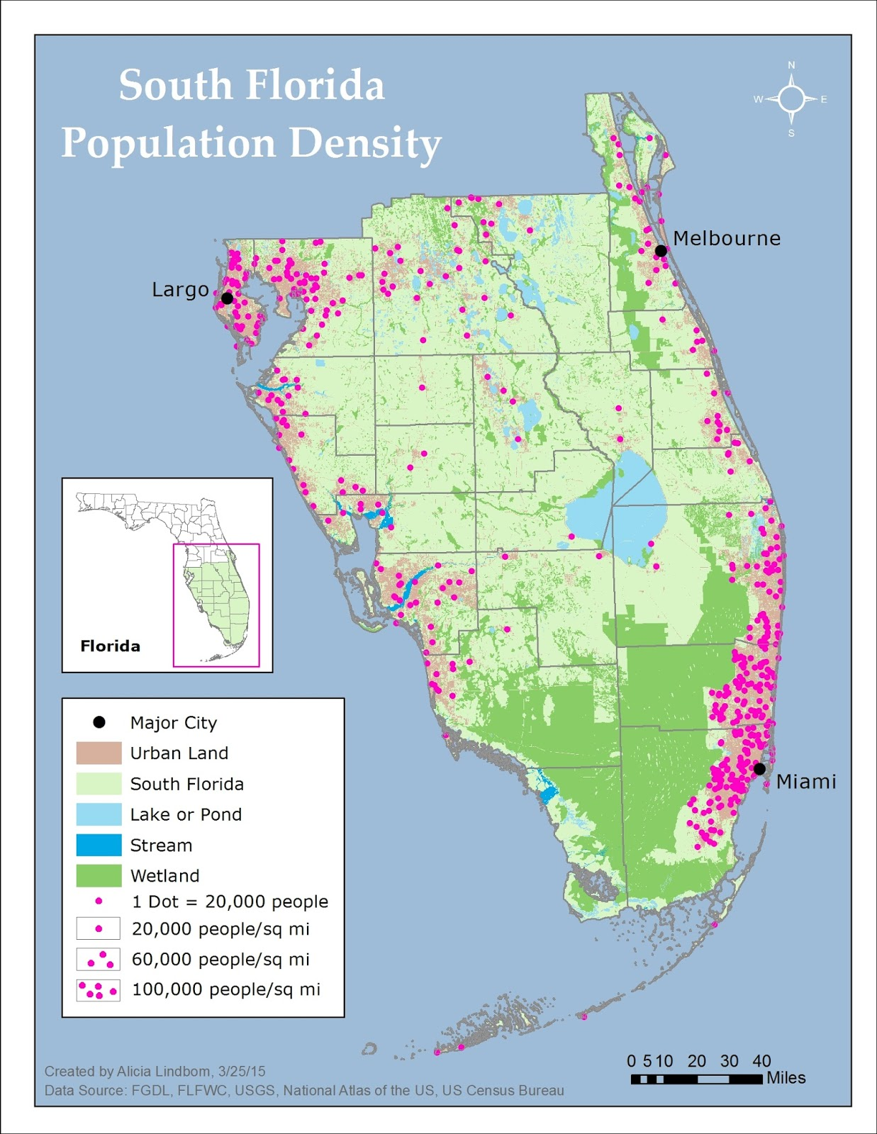 Detailed Political Map Of Florida Ezilon Maps Map Of Florida West