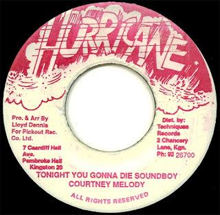 Courtney Melody - Tonight You Gonna Die Soundboy
