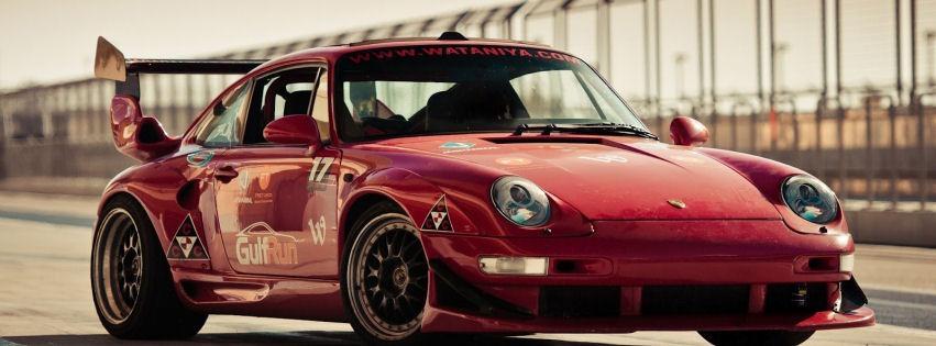 Kırmızı modifiye araba kapak resimleri
