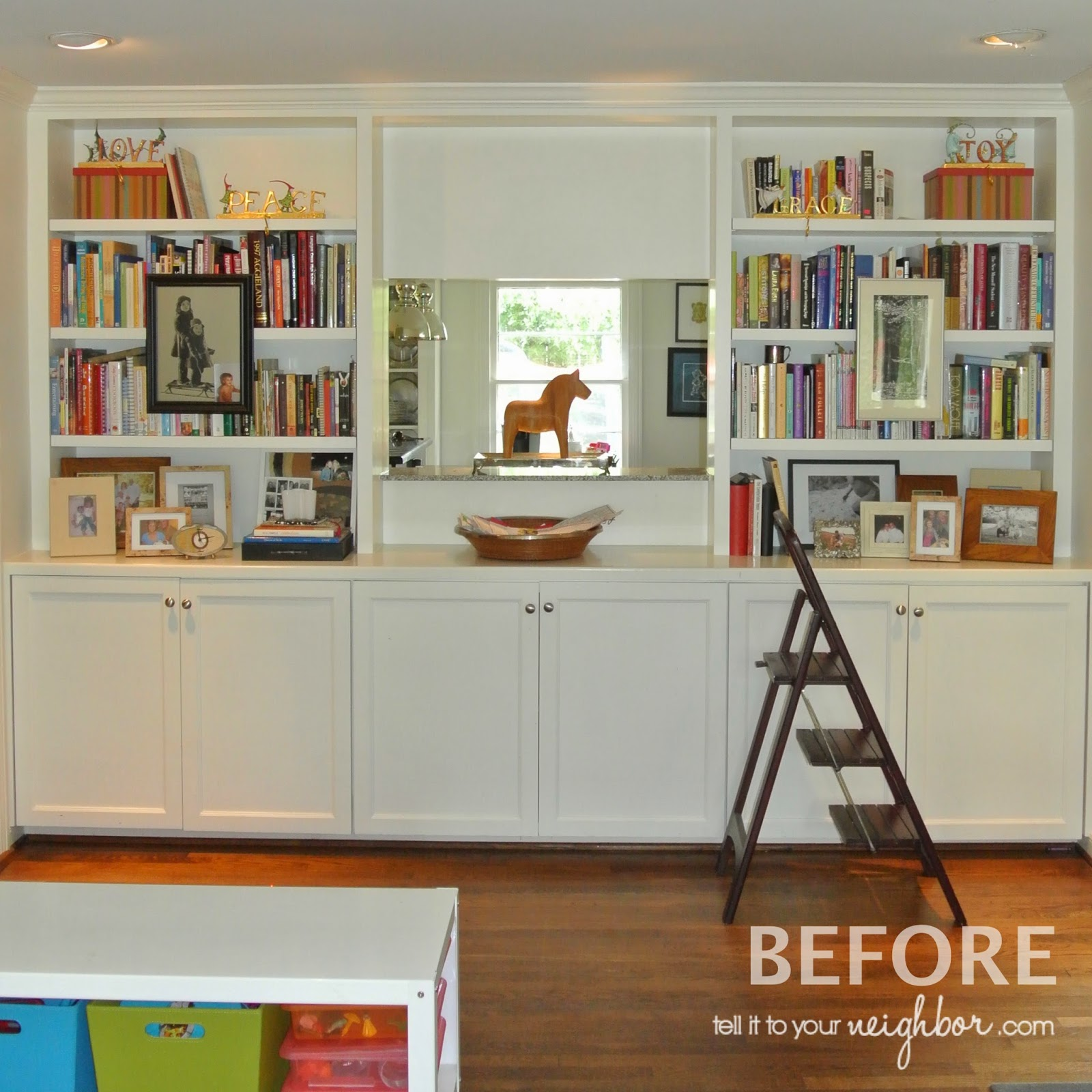 If an interior designer looks at bookcases in fear, how do people who don'