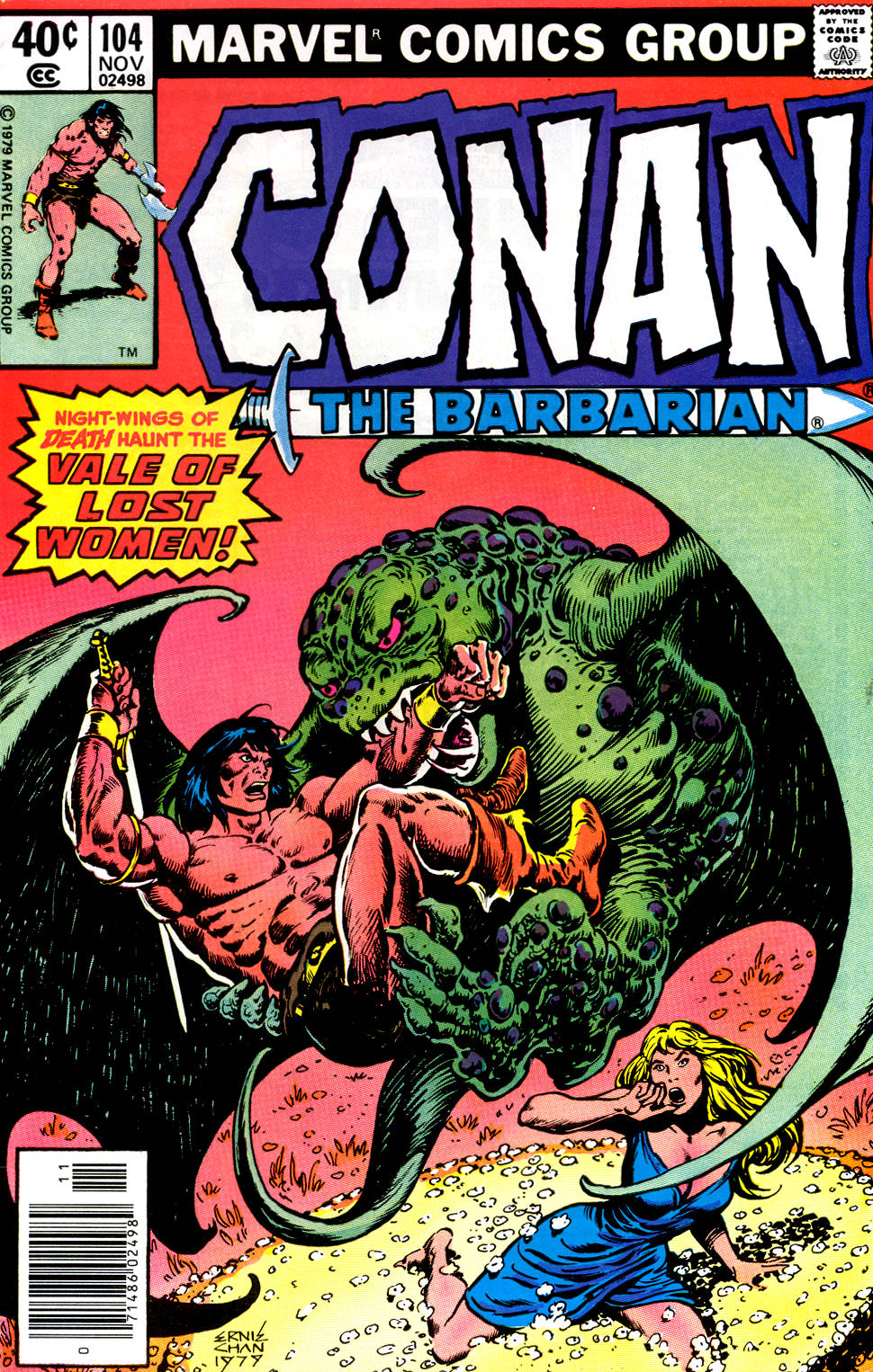 Conan the Barbarian (1970) Issue #104 #116 - English 1