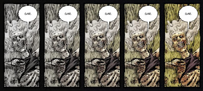 The Walking Dead #1 color