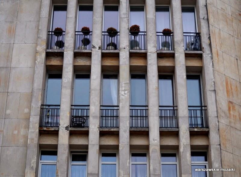 Warszawa Śródmieście modernizm kamienica Sewerynów