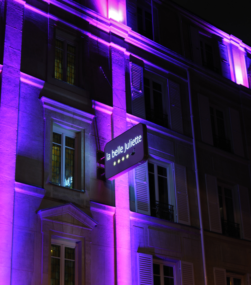 HOTEL...LA BELLE JULLIETTE