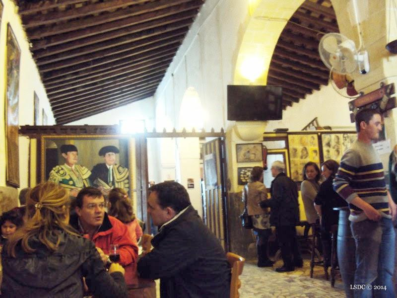 Degustación de Papas a la Cachonda en Tabanco La Pandilla