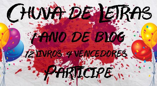 [Sorteio] Um Ano do Blog Chuva de Letras - E o Overdose está junto nessa festa!