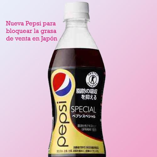 Pepsi special bloquear grasa