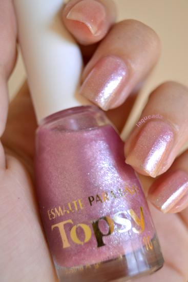 esmalte Topsy rosa