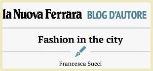 La Francesca giornalista sulla Nuova Ferrara