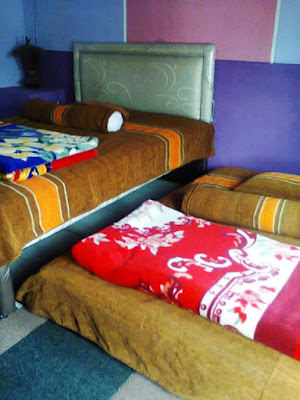 homestay dieng pass room