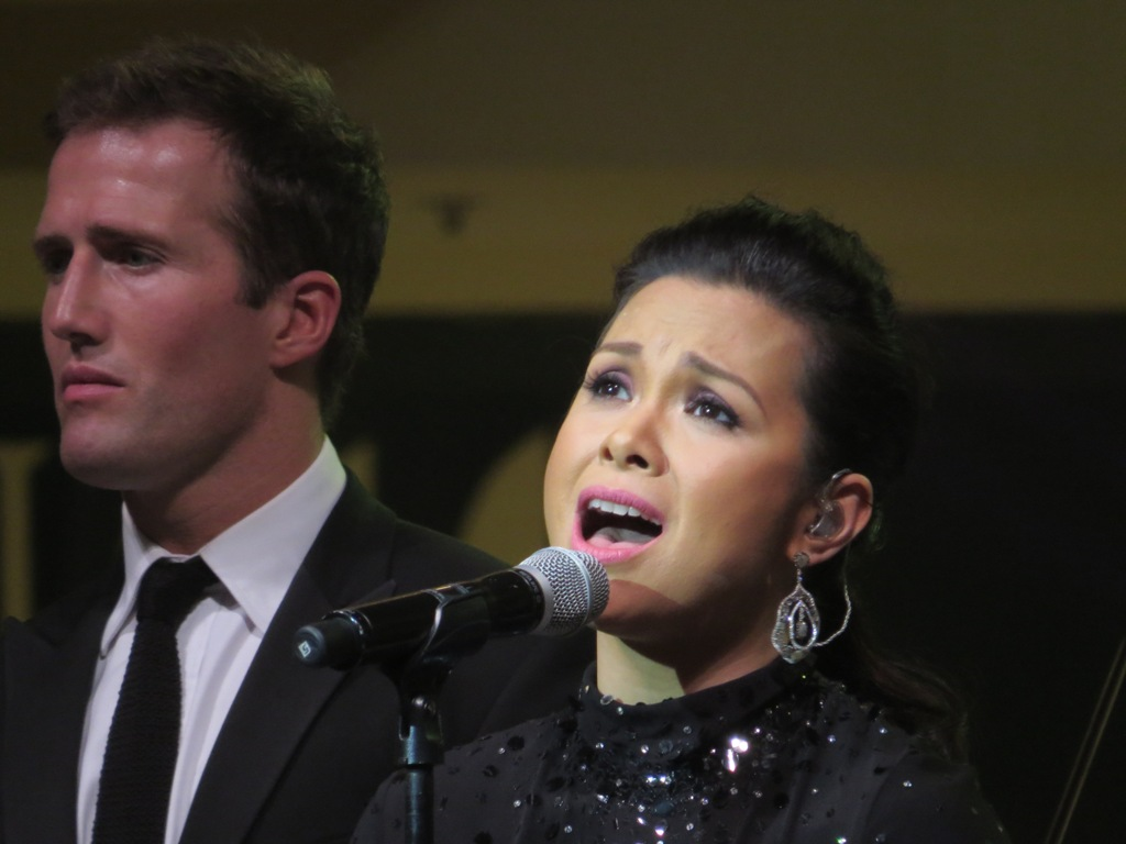 Lea Salonga during Christmas presentation.  (Photo by Bernard Eirrol Tugade)