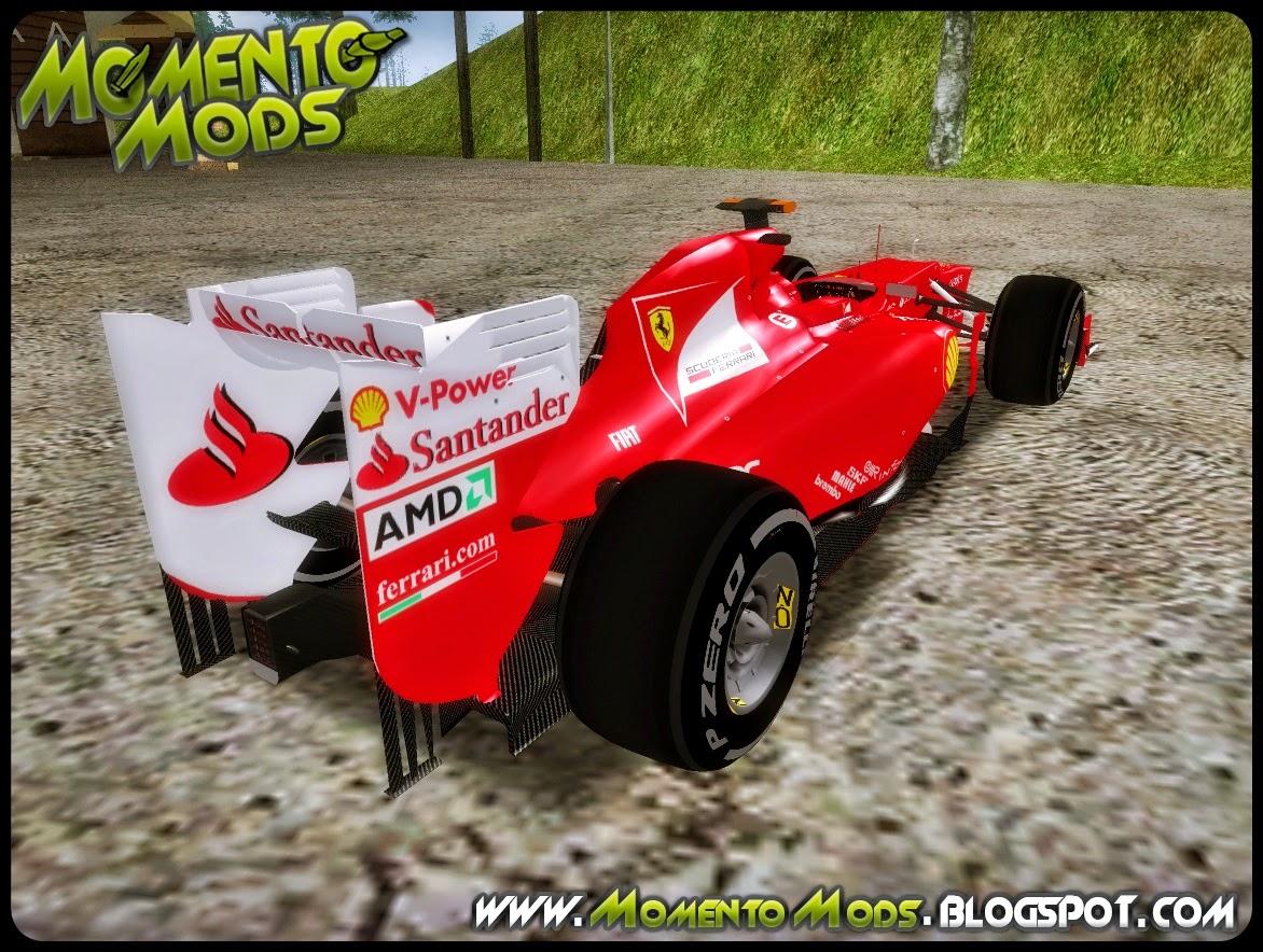 GTA SA - Ferrari Scuderia F2012
