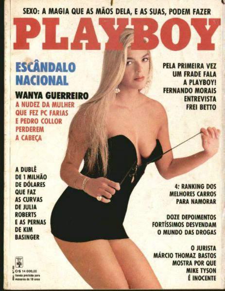 Wanya Guerreiro - Playboy 1992