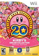 kirby dream collection se box Nintendo Running Kirby Contest