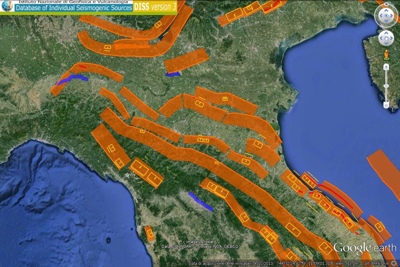 Ricerca sperimentazione sequenza sismica appennino for Ingv lista terremoti di oggi