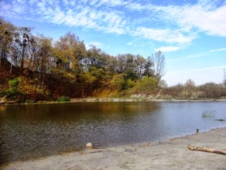 The Lake near the High Castle (Lviv)