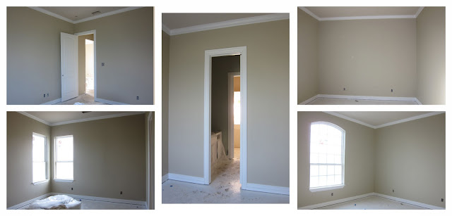 A Ficken Home Priming Painting And A New Door
