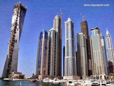 Edificios torre residenciales en Dubai