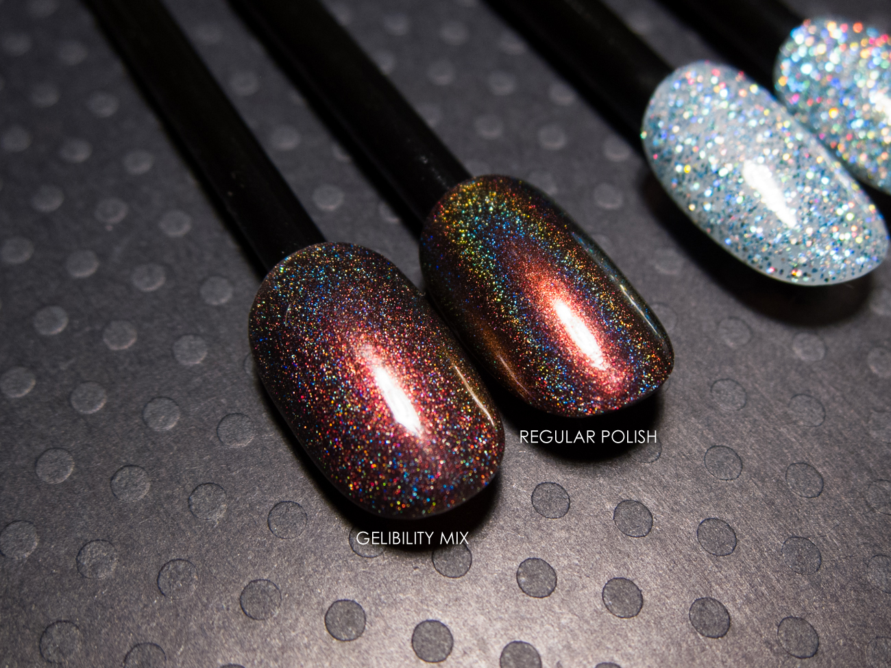 Enchanted Polish - Vampires Suck as a gel polish via @chalkboardnails