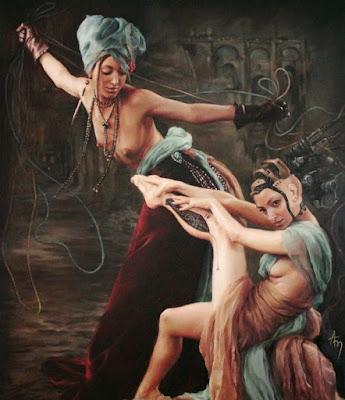 surrealismo-retratos-mujeres-pintura-alexandra manukyan