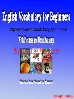 English Words Vocabulary Urdu Book
