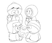 #6 Kenny McCormick Coloring Page