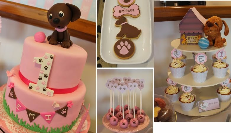 Eventos Personalizados- Puppy Dog para el 1° cumple de Emiliana