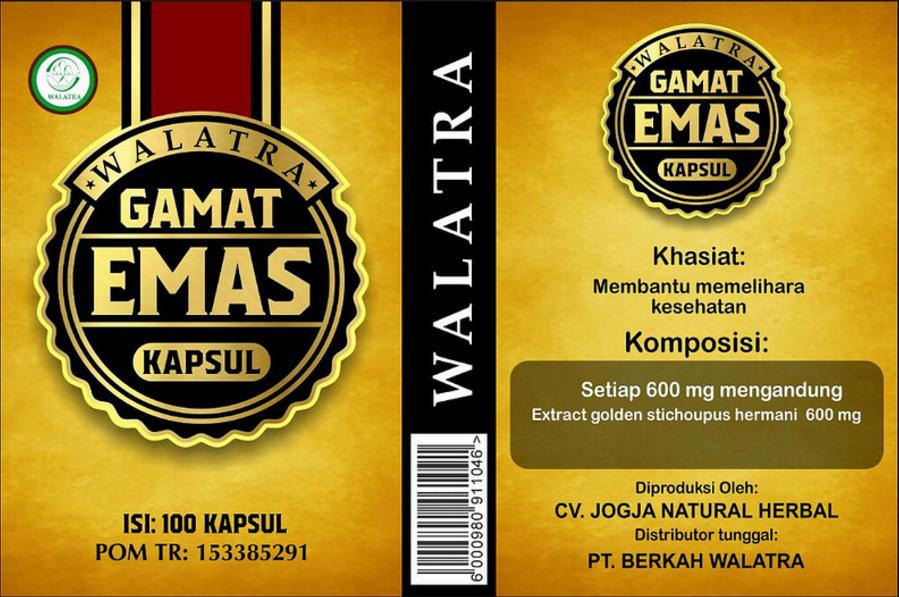 Walatra Jelly Gamat Emas Kapsul