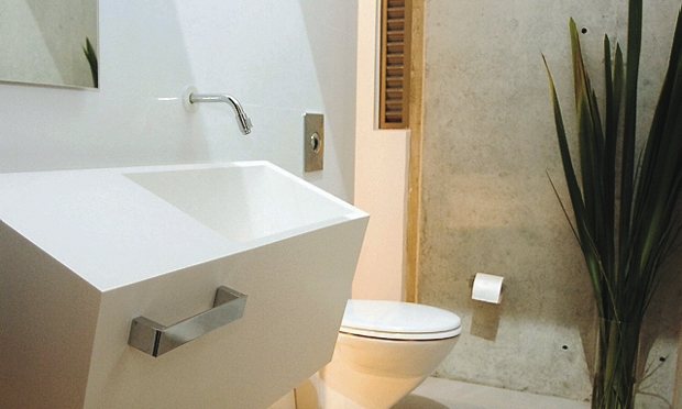 tecnologia en construccion enchapes de ba os modernos On enchapes de baños modernos