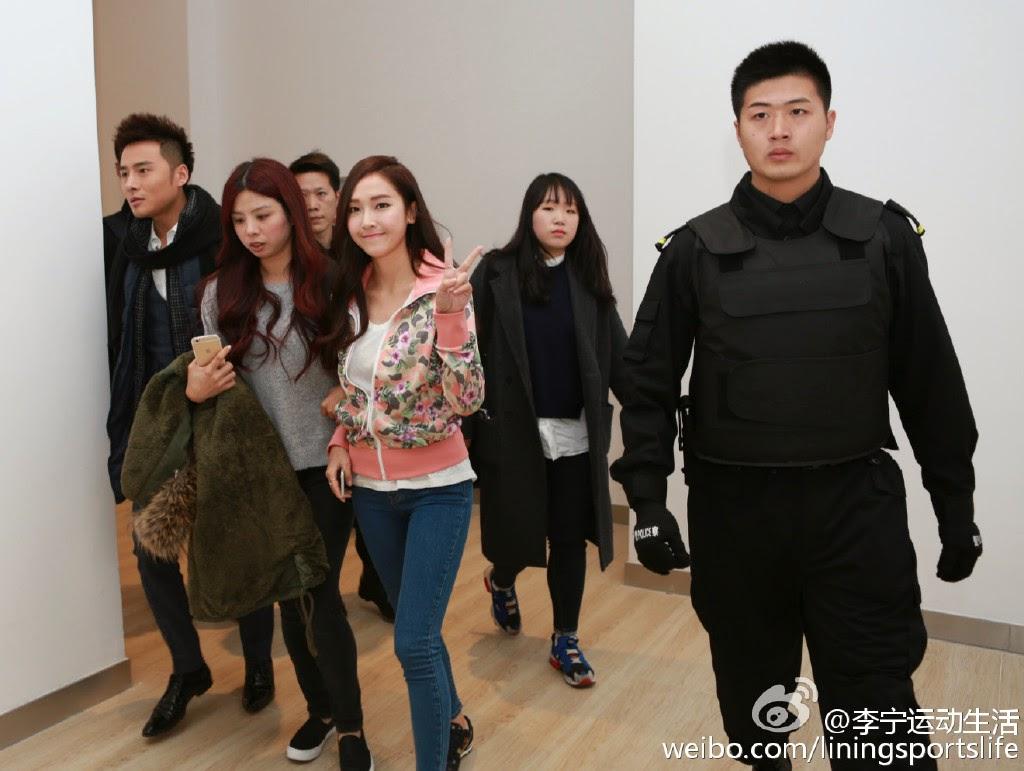 [150125] Jessica para Li-Ning - Fansigning Event 07