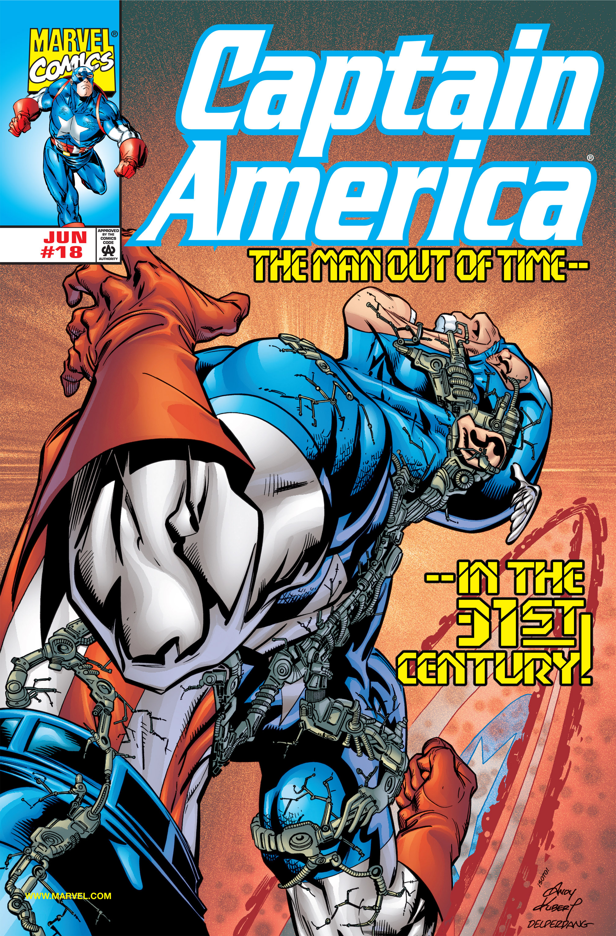 Captain America (1998) Issue #18 #24 - English 1
