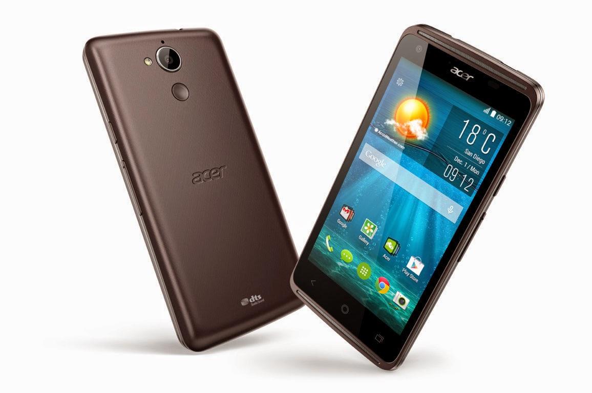 Acer Liquid Jade Z, Spesifikasi dan Harga HP Fitur Zero Air Zap 2,8 Juta