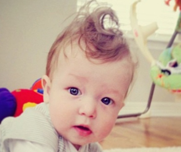30 Cute Babies Having Bad Hair Day