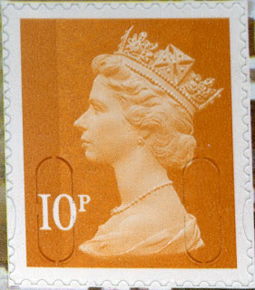 10p Machin definitive in litho from Wm Morris PSB.