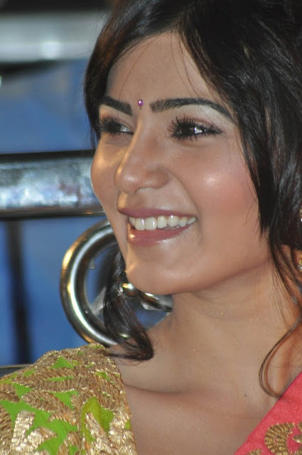 Samantha half saree stills