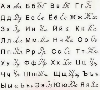 Aprender blgaro el alfabeto cirlico  Mam espaola en Bulgaria