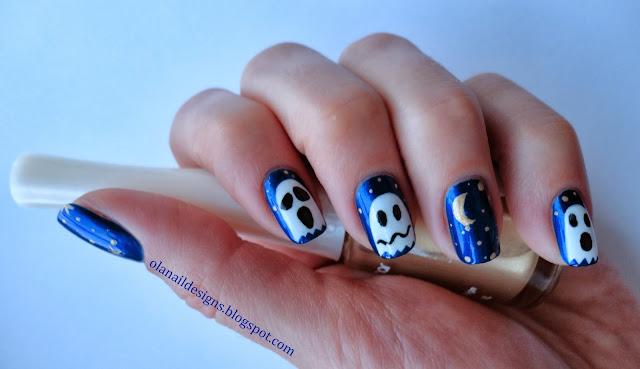 duchy na paznokciach