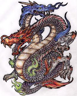 Dragões chineses