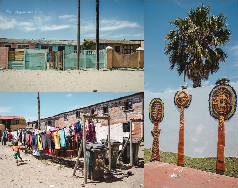 Township Langa in Kapstadt