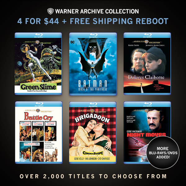 Warner Archive 4 For $44 Sale