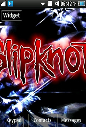 Other Slipknot Band Samsung Corby 2 Theme 2 Wallpaper