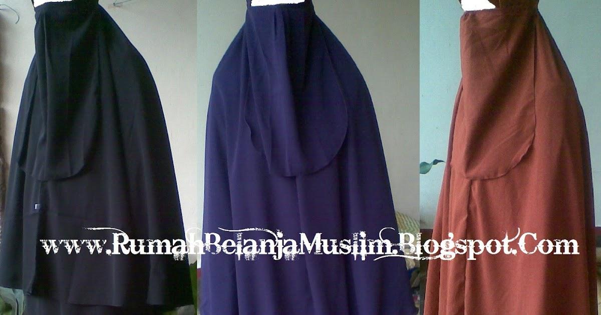 Gamis cadar untuk akhwat muslimah Baju gamis cadar