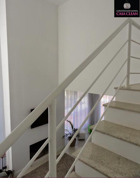 Sala Pequena Com Escada ~  For Decoração e Projetos – Salas com escadas decoradas de madeir