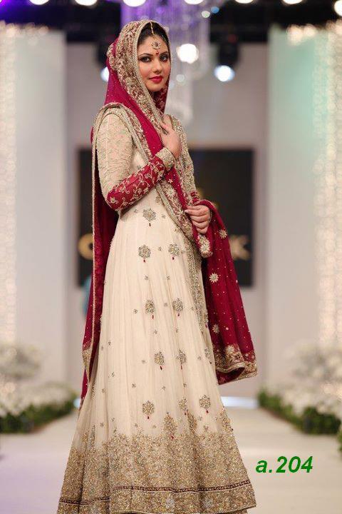 Latest frock churidar fashion for women in pakistan 2012 p