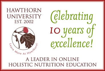Holistic Health and Nutrition college credit
