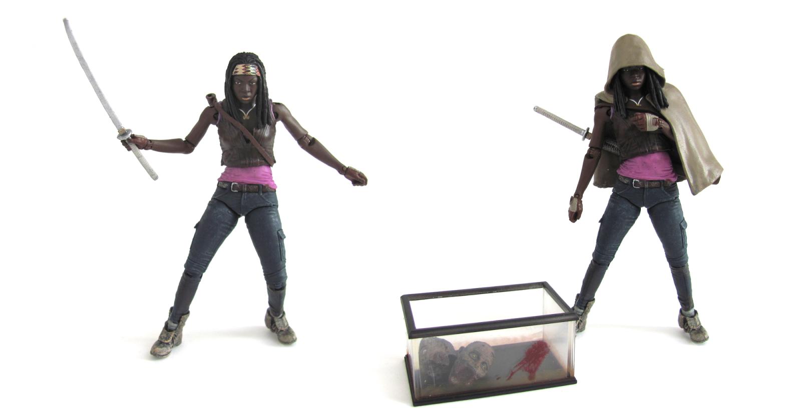 McFarlane Toys WALKING DEAD MICHONNE/ PET 1 & 2 Figures! Comic ...